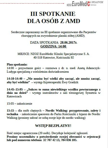 (Polski) III spotkanie dla osób z AMD!